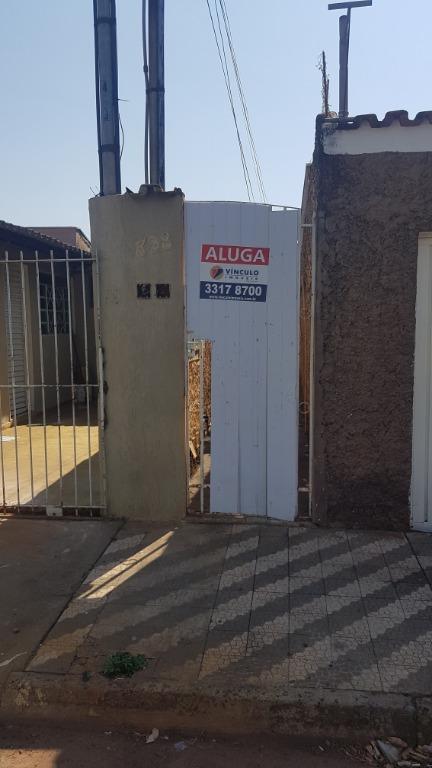 Casa com 1 dormitório para alugar, 45 m² por R$ 500,00/mês - Santa Maria - Uberaba/MG