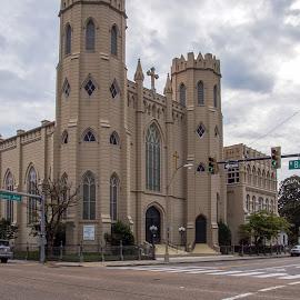 Memphis Church by Joe Machuta - Buildings & Architecture Public & Historical