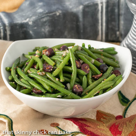 Mustardy Haricots Verts