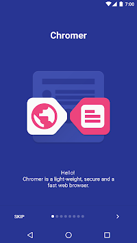 Chromer APK screenshot thumbnail 1