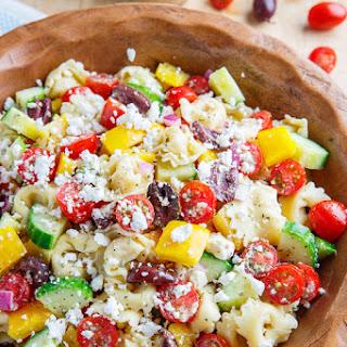Mediterranean Tortellini Pasta Salad Recipes