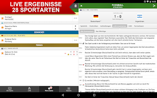 Screenshot of ErgebnisseLive.com