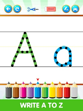 ABC123 English Alphabet Write apk screenshot