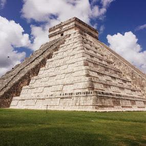 Chichen Itza by Heidi George - Buildings & Architecture Public & Historical