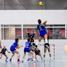 Backspike by Flemming Nielsen - Sports & Fitness Other Sports ( brøndby, volleyball, backspike, smash, indoor volleyball )