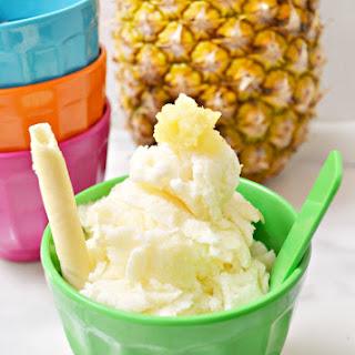 Pineapple Sherbet Dessert Recipes