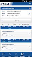 Screenshot of RMV Rhein-Main-Verkehrsverbund