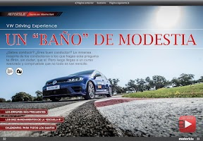 Screenshot of Motorlife Magazine
