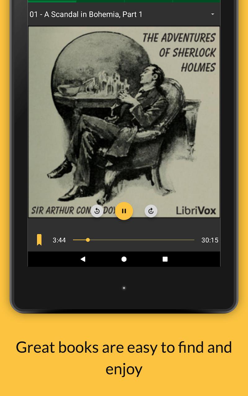 LibriVox Audio Books Supporter Screenshot 17