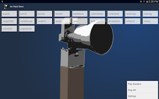 Screenshot of Air Raid Siren
