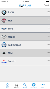 Brockhall Car Sales - screenshot