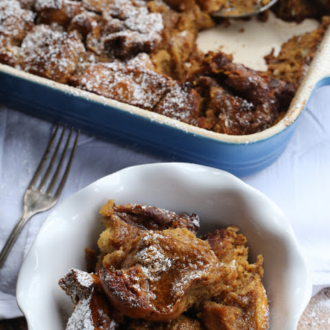 Baked Gingerbread French Toast