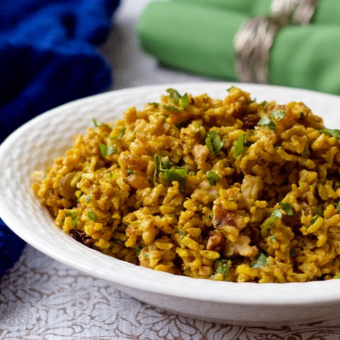 Curried Brown Rice Salad