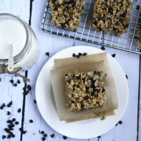 Chocolate Chip Chia Rice Krispies® Snacks