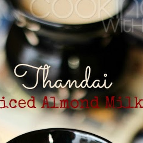 {Holi Special Drinks/Beverages} Thandai | Spiced Almond Milk