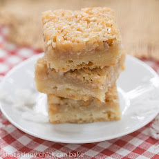 Coconut Macadamia Nut Bars