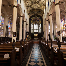 St John's Church Edinburgh by Wendy Milne - Buildings & Architecture Places of Worship ( scotland, ceiling. architecture, edinburgh, church, st john's )