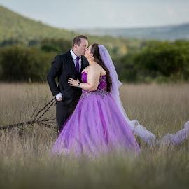 Just before sunset by Lodewyk W Goosen (LWG Photo) - Wedding Bride & Groom ( wedding photography, wedding photographers, wedding day, weddings, wedding, brides, bride and groom, wedding photographer, bride, groom, bride groom )