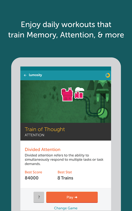 Lumosity - Brain Training Screenshot 6