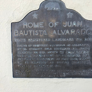 Home of Juan Bautista Alvarado