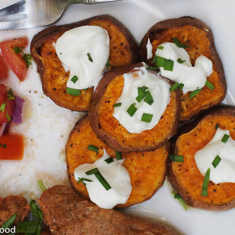 Roasted Cumin Sweet Potato Coins