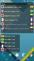 Screenshot of Scores Widget