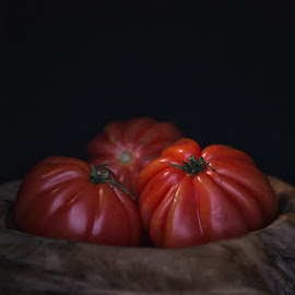 Pomodoro by Michael Strobl - Food & Drink Fruits & Vegetables ( tomato, still life, vegetable, pomodoro, tomate )