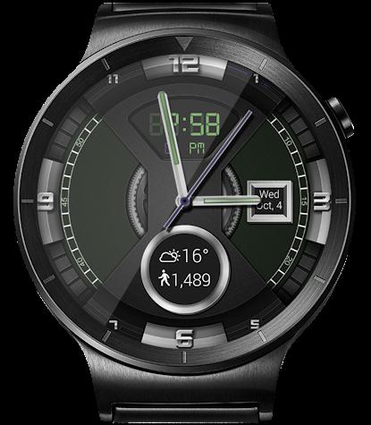 Dashing Gears HD WatchFace Widget & Live Wallpaper Screenshot