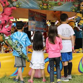 Fun Fair Game time by Teresa Cerbolles - City,  Street & Park  Amusement Parks