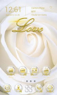 App Rose Love GO Launcher Theme apk for kindle fire