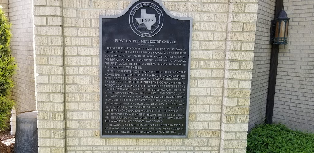 Before 1881 Methodists in Port Neches, then known as Grigsby's Bluff, were served by occasional circuit Riders who preached in private homes. On Sept. 6, 1881, the Rev. W. H. Crawford conducted a ...