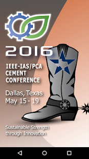 IEEE-IAS/PCA Cement Conference - screenshot