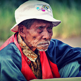 Sad and Tired..... by Irfan Hikmawan - People Portraits of Men