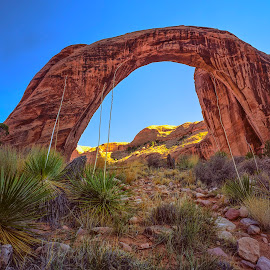Rainbow Bridge by Stanley P. - Landscapes Caves & Formations