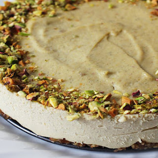 Vegan Pistachio Cheesecake