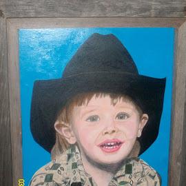 cowboy by Hope Strader - Drawing All Drawing