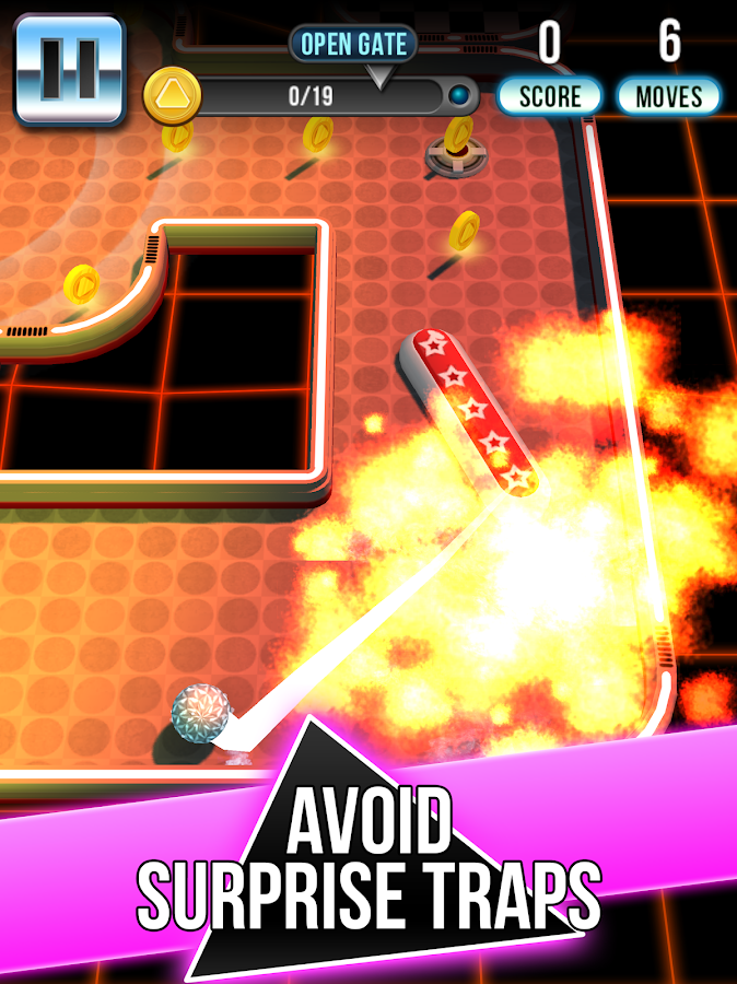 Retro Shot Pinball Puzzle Game Screenshot 6