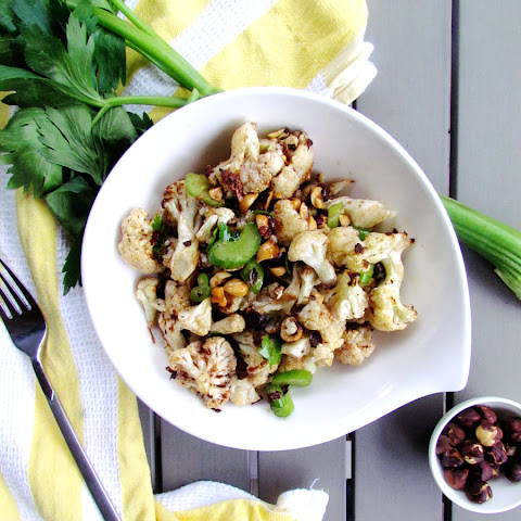 Roasted Cauliflower And Hazelnut Salad