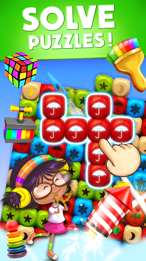 Toy Blast Party Time (Ad Free) Screenshot 1