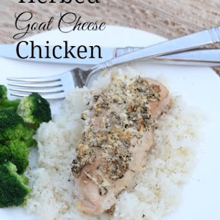 Herbed Goat Cheese Chicken