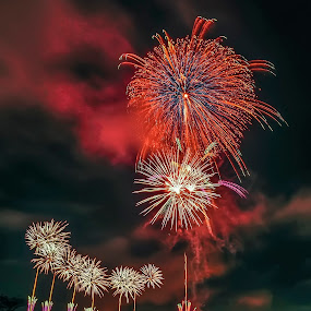 by Janiar Putra - Abstract Fire & Fireworks