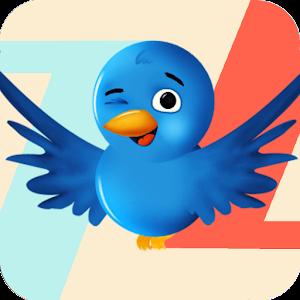 Zig Zag Blue Bird