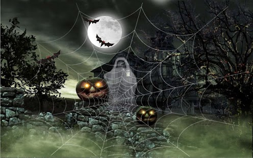 Halloween 2016 live wallpaper - screenshot