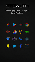 Stealth Icon Pack 4.4.9 APK 1
