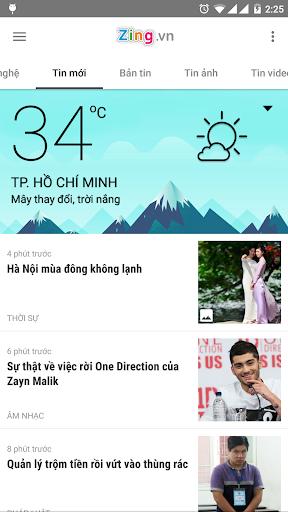 Zing.vn - Vietnam Daily News screenshot 3