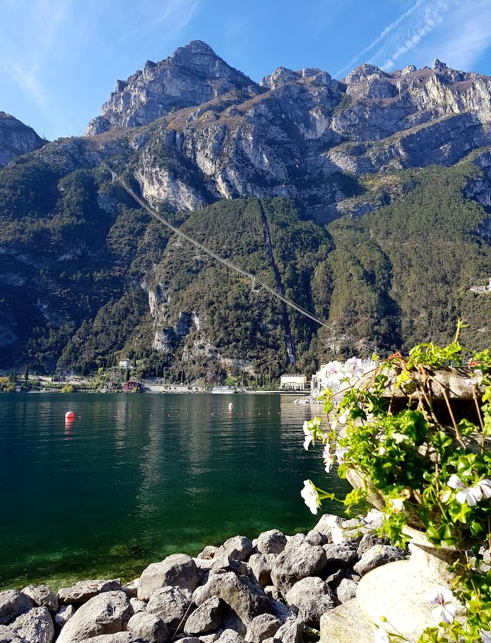 Mountain and alle in Riva del Garda by Patrizia Emiliani - Instagram & Mobile Android ( riva del garda, mountain, lake, italy,  )