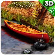 3D Boat Scenery Live Wallpaper