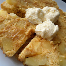 Pineapple Crumble Cake