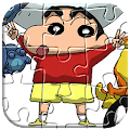 Jigsaw Puzzle Shin chan Cartoon APK for Bluestacks