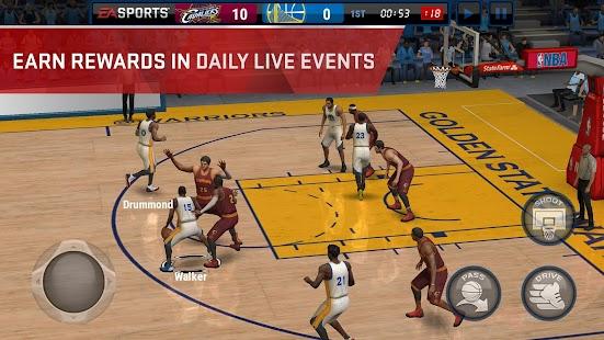 NBA LIVE Mobile- screenshot thumbnail